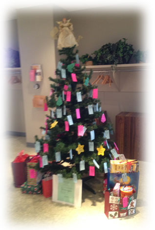 Giving Tree Ends @ St. John's Church