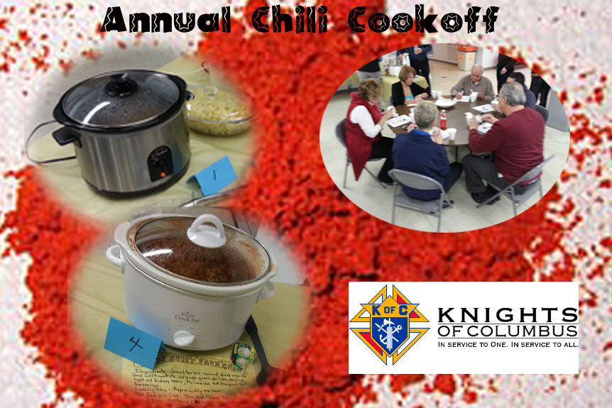 Chili Cookoff / Dessert Bake Off @ Parish Center