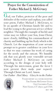 The McGivney Prayer