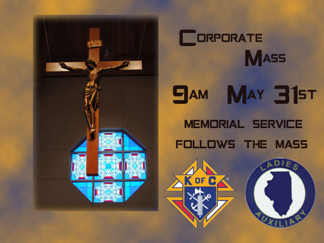 Corporate Mass 9 AM @ St. John's Church