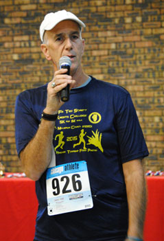 Race Director, Jim Kaltinger