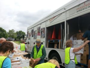 Mobile Food Pantry Truck @ St John's Parish Parking Lot