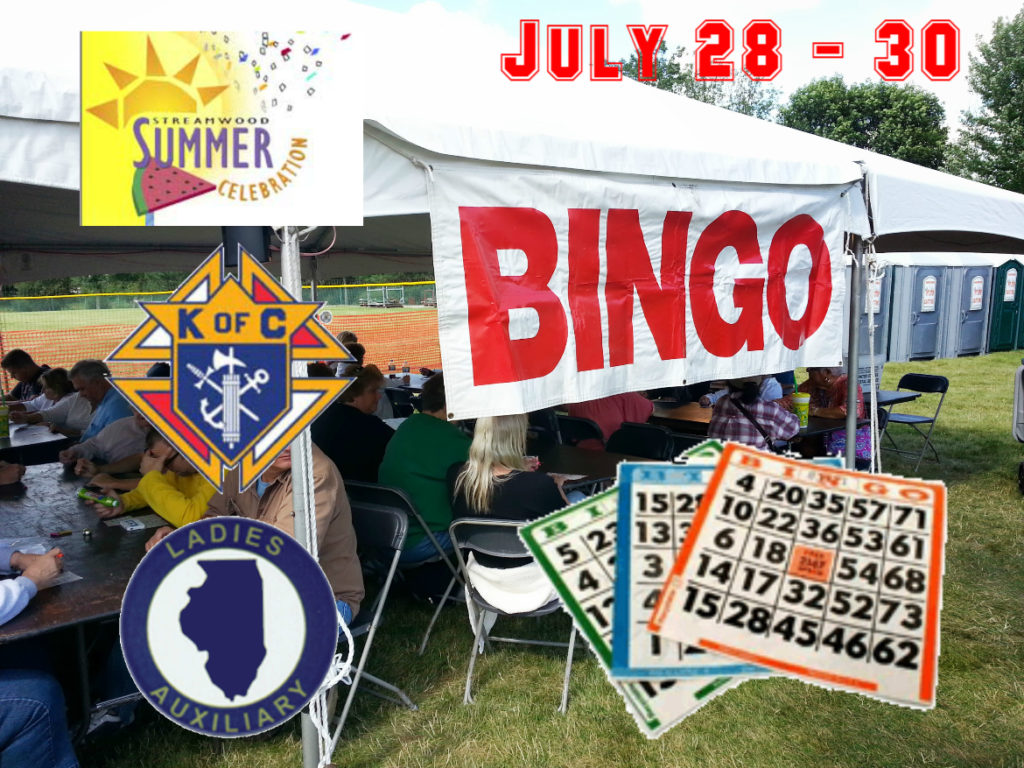 Bingo 2017 Summer Celebration