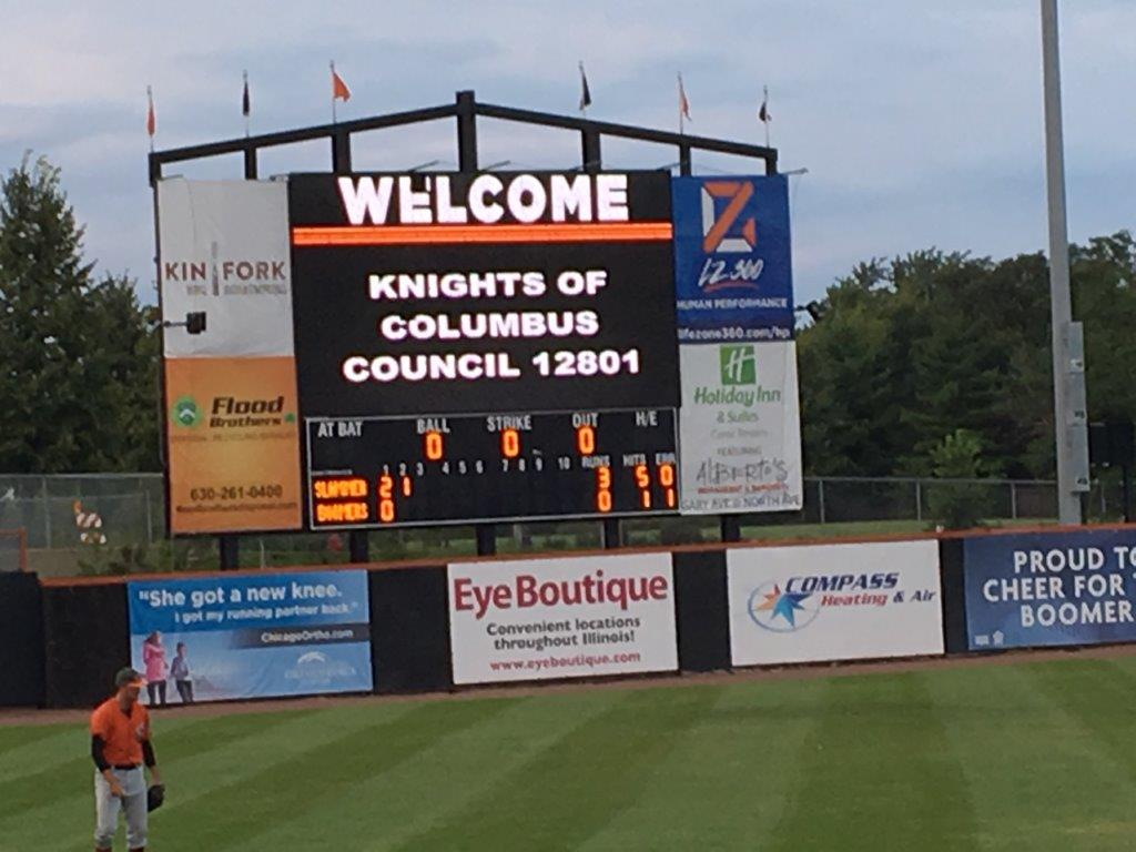 Schaumburg Boomers Family Outing