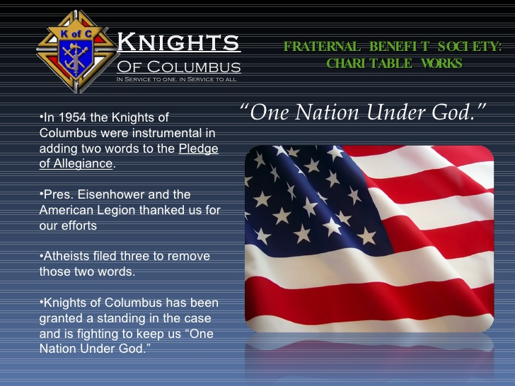 Knights of Columbus Under God