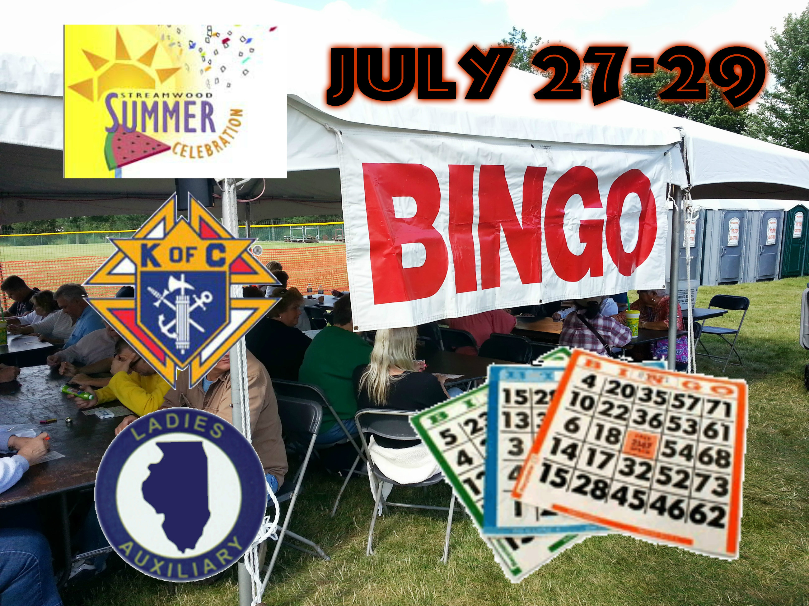 Bingo 2018 Summer Celebration @ Hoosier Grove Barn | Streamwood | Illinois | United States