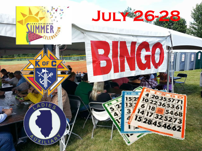 Bingo 2019 Summer Celebration