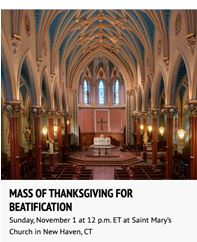 Mass Thanksgiving